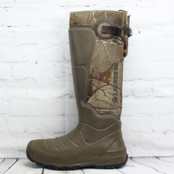 "LaCrosse Other - LACROSSE AeroHead 18"" Realtree Xtra Boots Size 7"